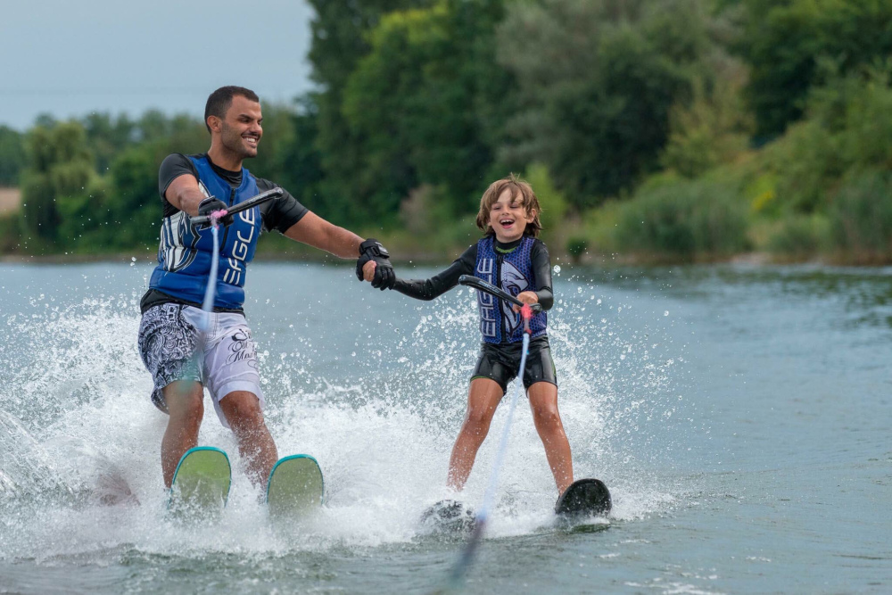 The Story of a Blind Italian Waterskier