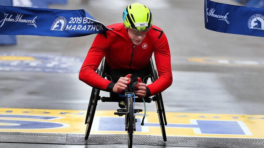 5 things to know about Daniel Romanchuk, the 2019 Boston Marathon men's wheelchair winner
