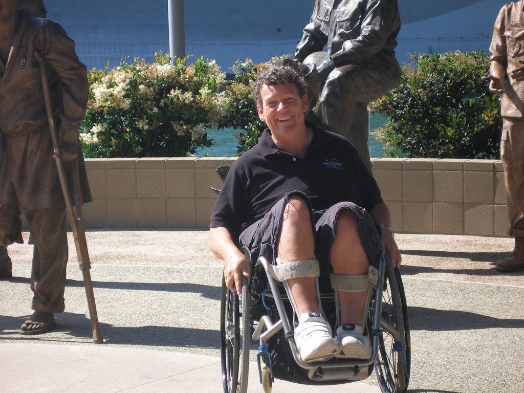 Angela Madsen Wheelchair