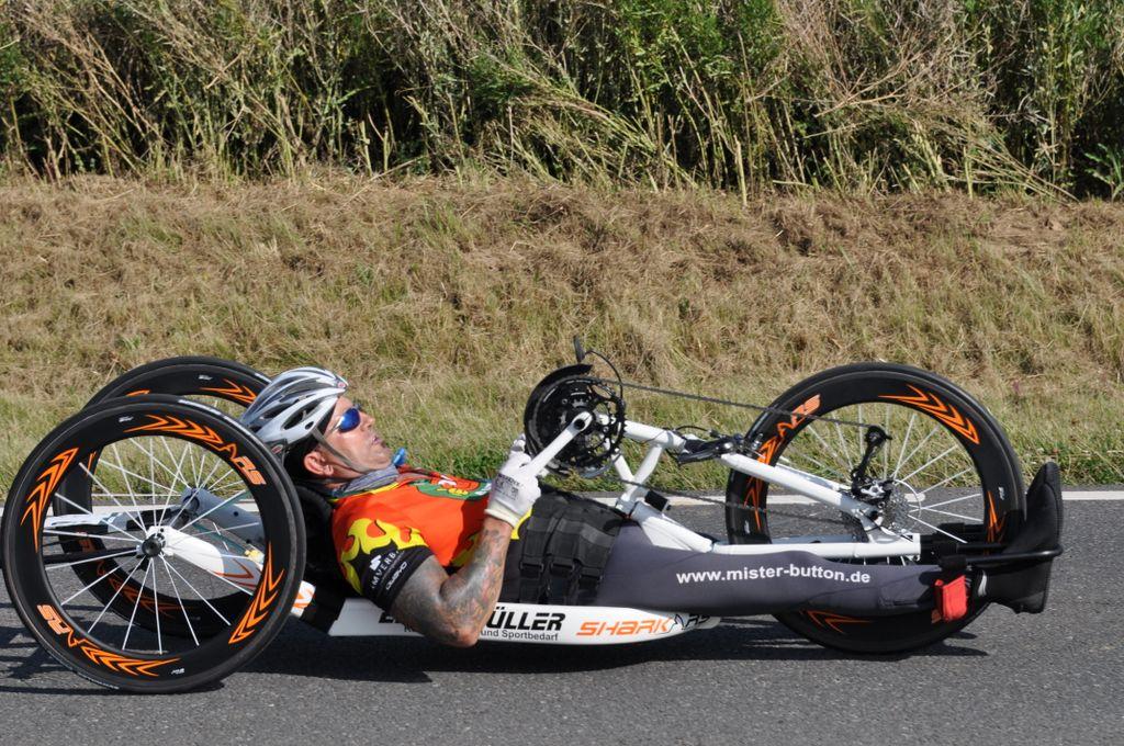 Racehandbike full speed